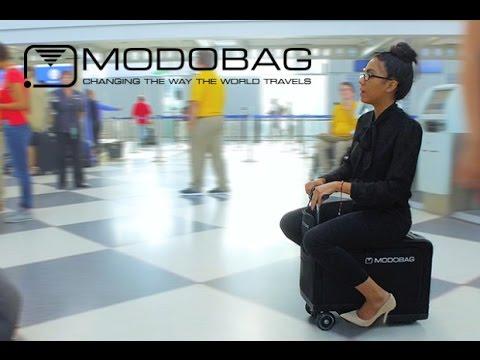 Modobag : حقيبة عبارة عن سكوتر كهربائي