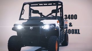 4. Bobcat 3400 & 3400XL Utility Vehicles: Built for Hard Work