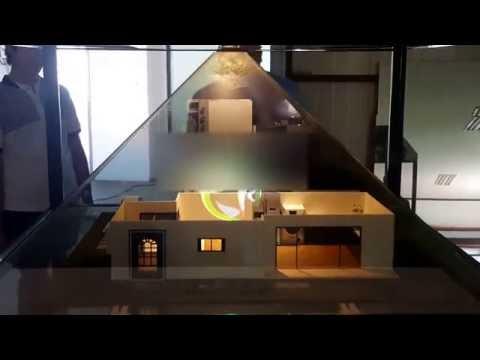 포디믹스 국내 최초 홀로그램 건축모형 디오라마