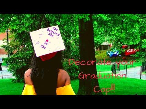 Graduation quotes - DIY  Decorating your Graduation Cap!!  CONGRATS GRAD!!!