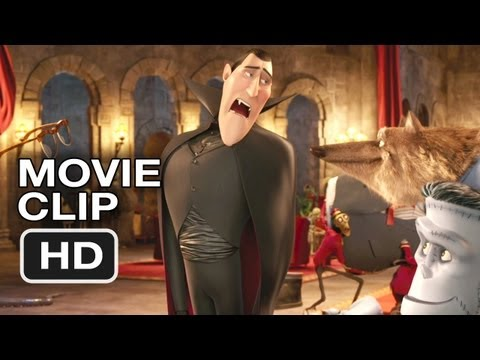 Hotel Transylvania Movie CLIP - Hold This Bacon (2012) Adam Sandler Comedy HD Video