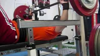 ベンチプレス ノーギア試合形式 150kg benchpress