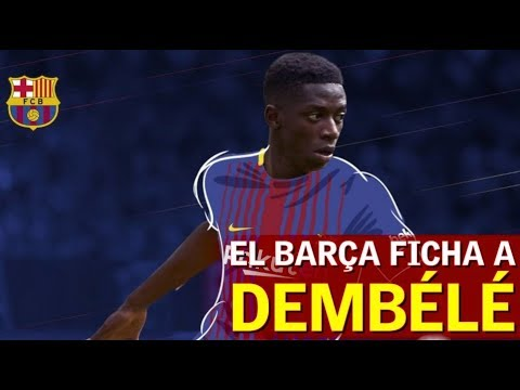 El Barcelona ficha a Dembélé: 105 millones + 42 en variables | Diario AS