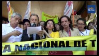Paro nacional en contra de las AFPs