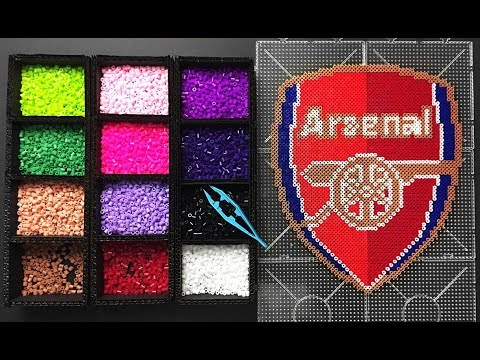 Arsenal FC Logo Pixel Art ( How To Make )