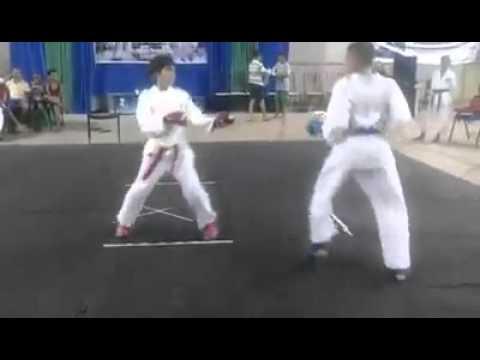 eriki noleto ganha em primeiro lugar na luta e no kata !!!