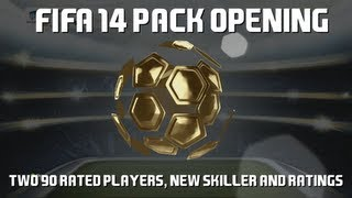 FIFA 14 Pack Opening: Two 90 Rated Players, New Skiller And Ratings