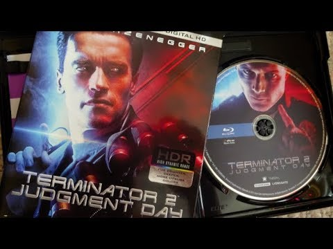 TERMINATOR 2 - JUDGEMENT DAY (1991) 4K UHD Blu Ray Unboxing
