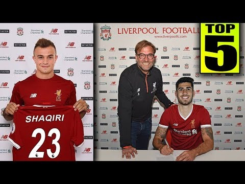 Top 5 LIVERPOOL Transfer Targets Summer 2018 | Transfer News Ft Asensio Shaqiri Alisson