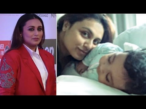 Rani Mukerji's First Public Appearance Post Giving