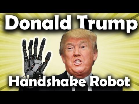 Donald Trump Handshake Robot