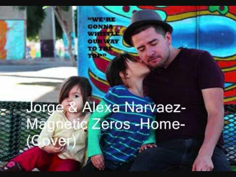 Home - Edward Sharpe and The Magnetic Zeros Acoustic Cover (Jorge & Alexa Narvaez) (видео)