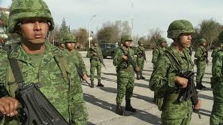 Hubo cambios en los altos mandos de la VI zona militar.