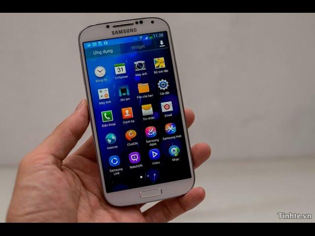 Đập hộp và trải nghiệm Galaxy S4 chính hãng