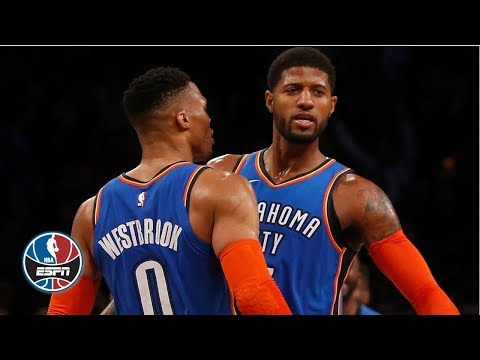 Video: Russell Westbrook's triple-double, Paul George's 27 lead Thunder vs. Grizzlies | NBA Highlights