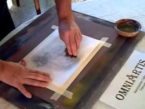 Trasferimento di immagine da stampata laser su carta