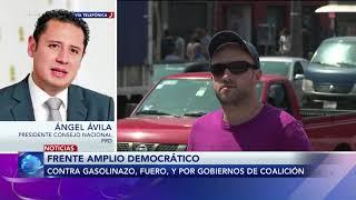 Entrevista con Angel Ávila presidente del consejo nacional del PRD