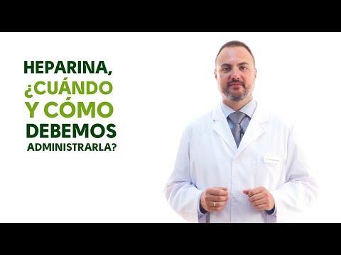Heparina, cuándo y cómo debemos administrarla