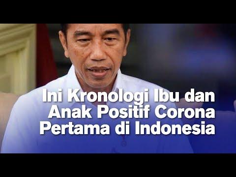 Ini Kronologi Ibu dan Anak Positif Corona Pertama di Indonesia