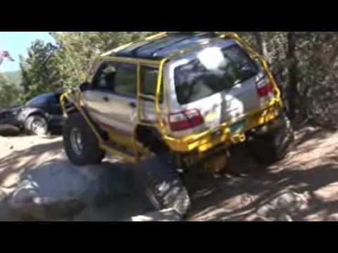 Subaru Forester Extreme OffRoad (видео)