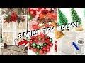 8 Dollar Tree Christmas  Hacks You NEED to Try