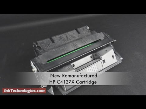 Remanufactured HP C4127X Toner Cartridge Instructional Video