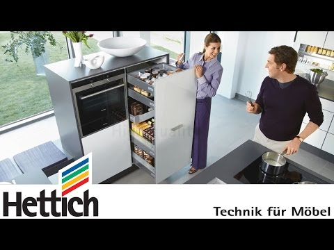Презентация фурнитуры и аксессуаров Hettich