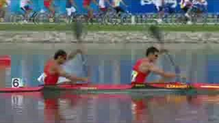 See the whole of the final of the men's K2 500M canoe/kayak event at the Beijing 2008 Summer Olympic Games.http://www.olympic.org/canoe-kayak-flatwater-k-2-500m-kayak-double-menhttp://www.olympic.org/beijing-2008-summer-olympics