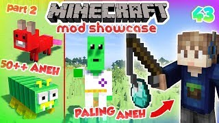 Video 50+ MOB SUPER ANEH PART 2 - MINECRAFT MOD SHOWCASE INDONESIA #43 MP3, 3GP, MP4, WEBM, AVI, FLV Januari 2019
