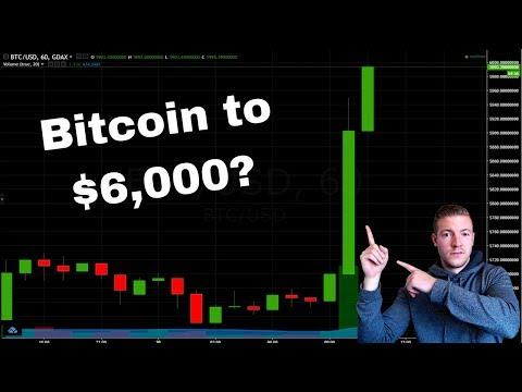 Bitcoin Rocketing to $6,000 ?! video