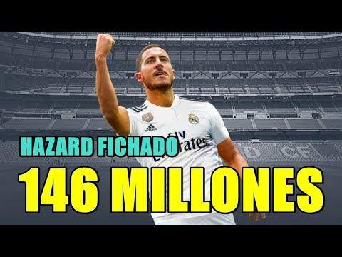 EL REAL MADRID FICHA A HAZARD POR 146 MILLONES DE EUROS