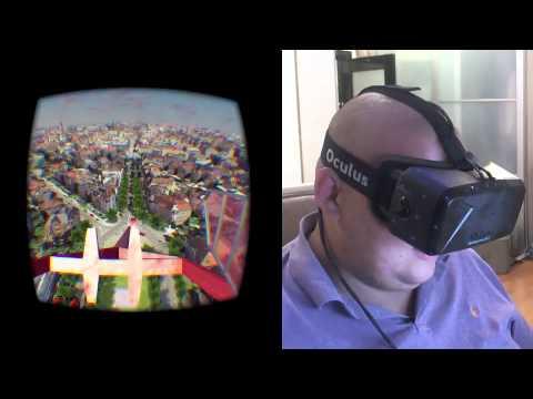 Oculus Rift DK2 - карусель смерти