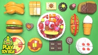 Video Learning Birthday Party Food Names and Sounds for kids with Toys Surprise Egg MP3, 3GP, MP4, WEBM, AVI, FLV Oktober 2017