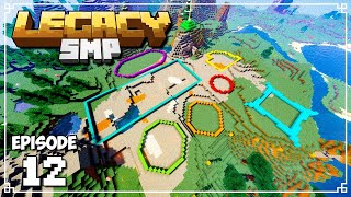 Legacy SMP - HOW TO PLAN A MEGA BASE in Minecraft (Minecraft 1.15 Survival)