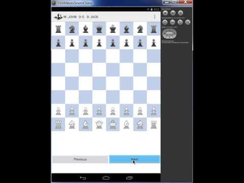 Video of yNotate Chess Recorder