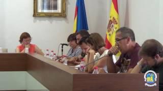 Sessió ordinària del ple de l'Ajuntament de Xeraco. Agost 2016