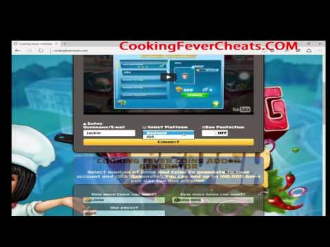 Cooking Fever Casino Cheats
