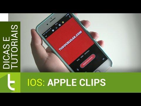 Análise do Apple Clips  Vídeo do TudoCelular