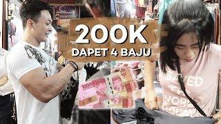Video CHALENGE BELI BAJU 200K DI PASAR !!! DITAWAR SAMPE DEAL !!! MP3, 3GP, MP4, WEBM, AVI, FLV April 2019