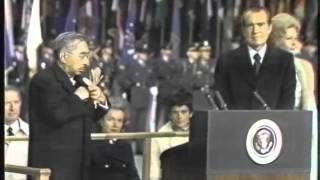 Emperor Hirohito Steps Foot on US Soil