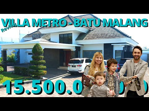 Review Villa Metro, Batu - Malang Model Tropic View Pegunungan