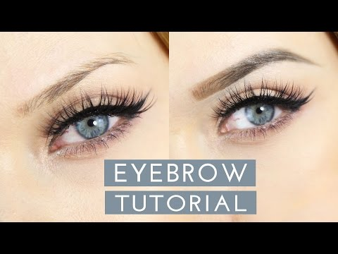 HOW TO: Easy Eyebrow Tutorial // MyPaleSkin