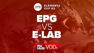 E-LAB vs Elements, game 1