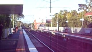 Collingwood Australia  city pictures gallery : Australia Victoria Melbourne - Collingwood (Abbotsford) railway metro train station