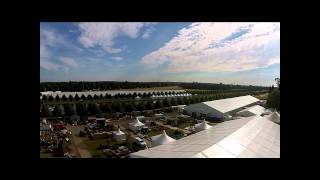 RHS Hampton Court Aerial Video 2014