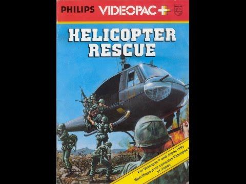 Nr. 59+ Helicopter Rescue | Philips Spielekonsolen | G7000 / G7400 / Videopac / Videopac+