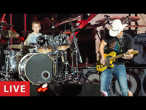 'Hot For Teacher, Live in Concert' Avery Drummer Molek & Brad Paisley