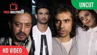 UNCUT - Hindi Medium Special Screening | Sushant Singh Rajput, Irrfan Khan, Imtiaz Ali, Swara bhas..