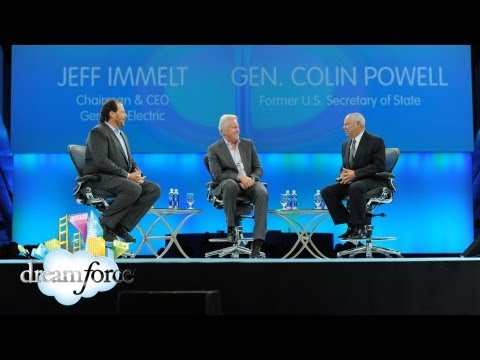 Ge - General Colin Powell, USA (Ret.) and General Electric CEO Jeffrey Immelt represent the pinnacle of leadership in public service and private enterprise. Powel...