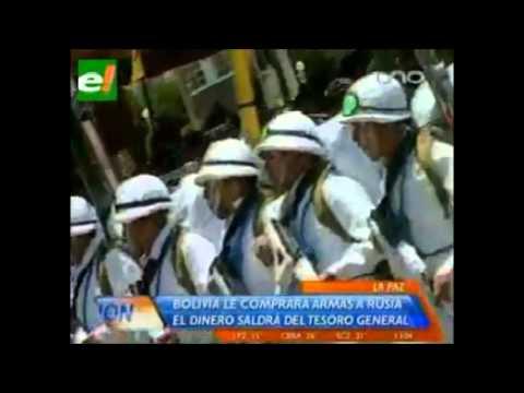 Bolivia Quiere Comprar Armamento Ruso por Varios Millones de Dólares
